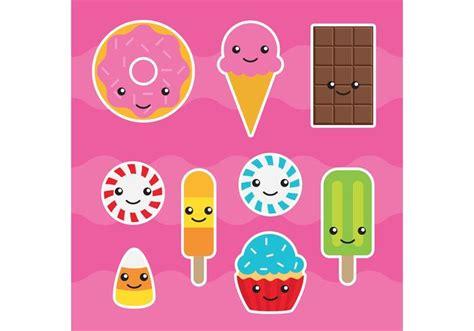 imagenes de bombones kawaii vectores del caramelo de kawaii descargue gr 225 ficos y