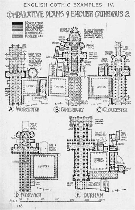 gothic architecture floor plan gothic churches cathedrals floor plans drawings