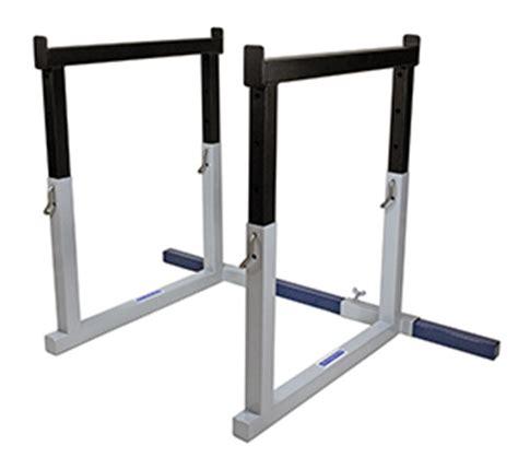 bench press spotter rack pillars of power spotter racks for bench squat ironmind