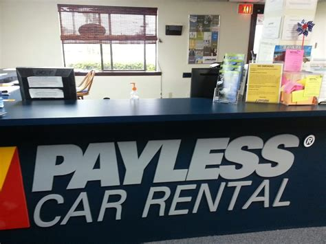 Car Rentals Port Canaveral by Payless Car Rental Autovermietung 99 George King Blvd