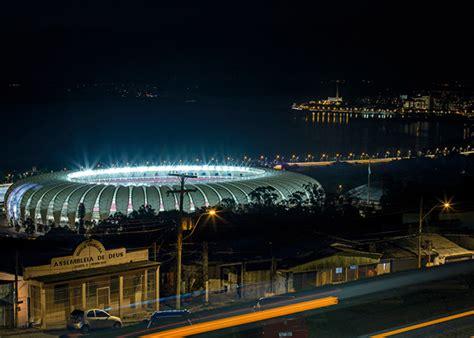 Interior Home Office Design Beira Rio Stadium At Night Photo