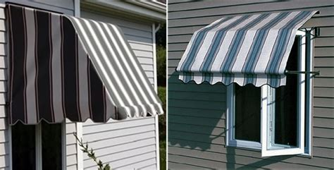 Fabric Awnings For Windows by Casement Window Awnings Aluminum Sunbrella Fabric