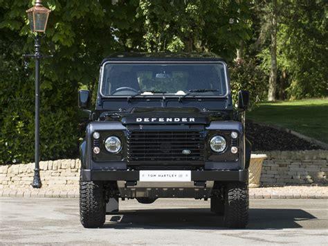 Land Rover Defender 90 Autobiography Corrisgrey Santorini Black Kyosho stock tom jnr