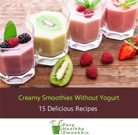 chocolate strawberry smoothie without yogurt