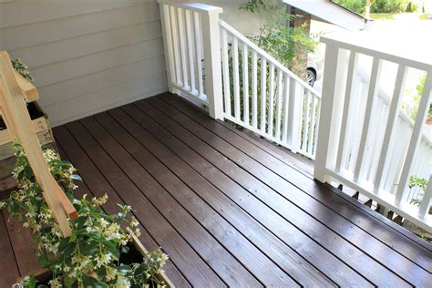 behr semi transparent deck stain chocolate porches