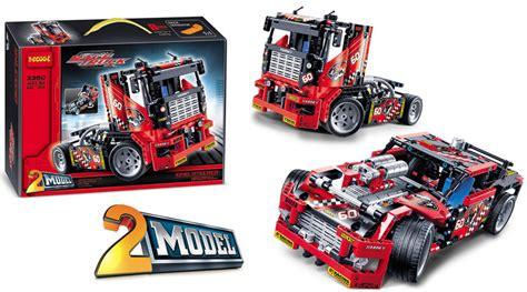 Truck Isi 2 Pcs jual brick decool 3360 king steerer race truck 2 in 1