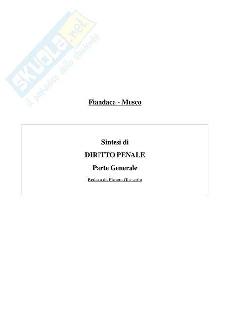dispensa diritto penale diritto penale parte generale appunti