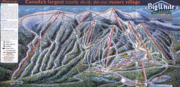 big white canada map skiing at the big white resort destinations z