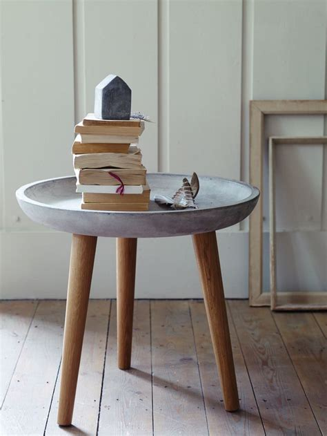 Cement Table by 25 Best Ideas About Concrete Furniture On