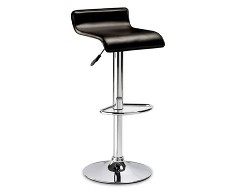 gas bar stools stratos brown faux leather gas lift bar stool