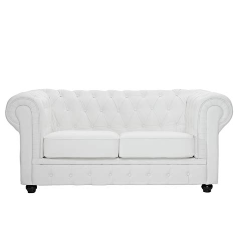 white tufted loveseat chesterfield modern button tufted leather loveseat w