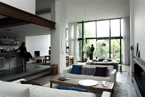 loft in a house a loft house in roubaix interior design ideas ofdesign