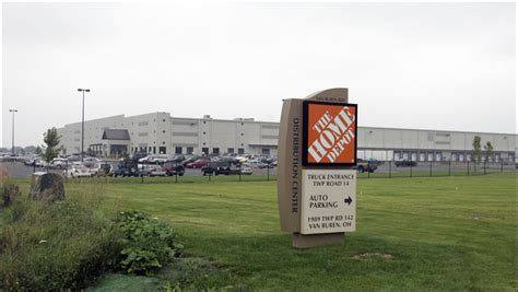 home depot may build warehouse in wood county toledo blade