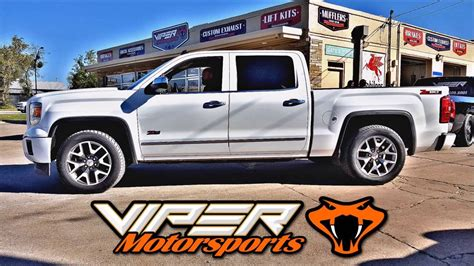 supercharged gmc supercharged 2014 gmc 1500 4 inch exhaust