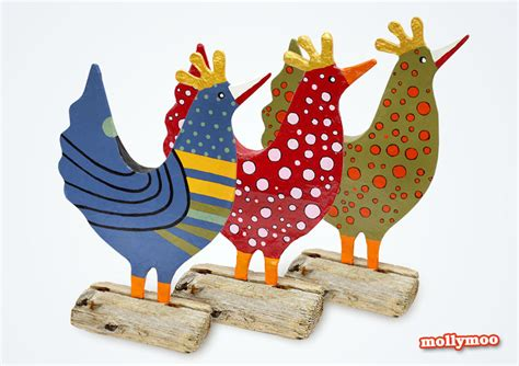 New Paper Crafts - mollymoocrafts my posh hens new papier mache craft for