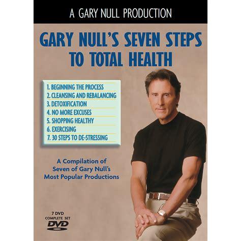 Gary Null Detox by 7 Steps To Total Health 7 Dvd Set Progressive Radio