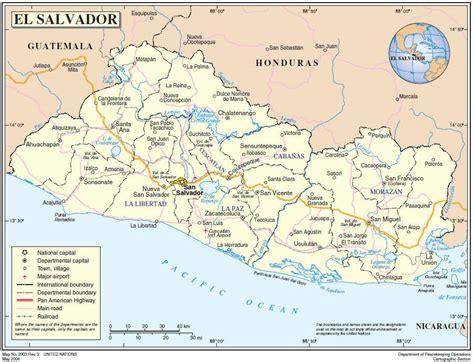 america map el salvador el salvador quotes like success