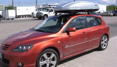 mazda 3 hatchback with roof rack mazda 3 5dr rack installation photos