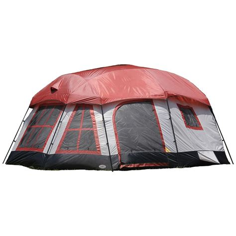 Three Room Tent by Texsport 174 Highland 3 Room Cabin Tent 293801 Cabin