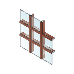 efco curtain wall 2 1 2 quot curtain wall nfrc cma approved system 5900 t