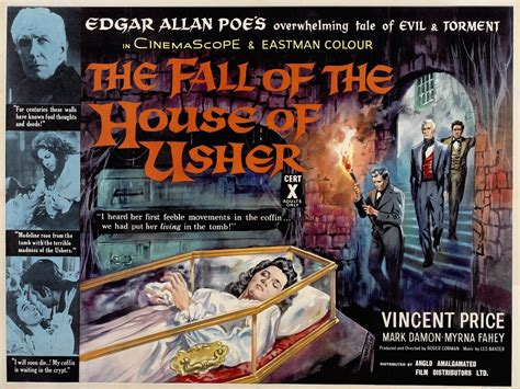 Filmface The Fall Of The House Of Usher 1960