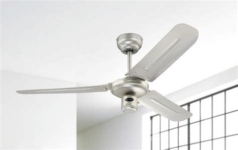 48 Ceiling Fan Without Light Westinghouse Ceiling Fan Industrial 122 Cm 48 Quot Satin Nickel Ceiling Fans For Domestic And