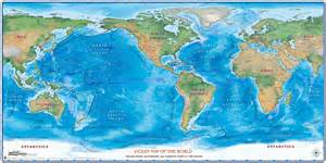 Ocean World Map by Pacific Ocean Centered World Map Viewing Gallery