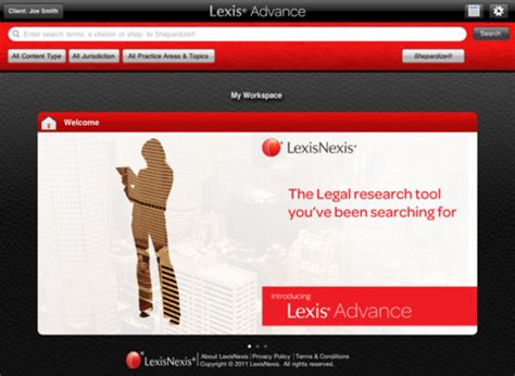 Lexis Advance Search Lexis Advance Hd App For Iphone Business