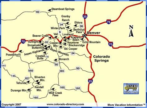 map of colorado ski resorts colorado colorado downhill skiing snowboarding map ski
