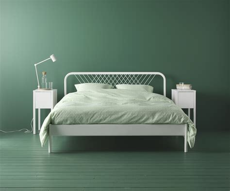 ikea nesttun nesttun bedframe wit lur 246 y bedrooms room and apartments