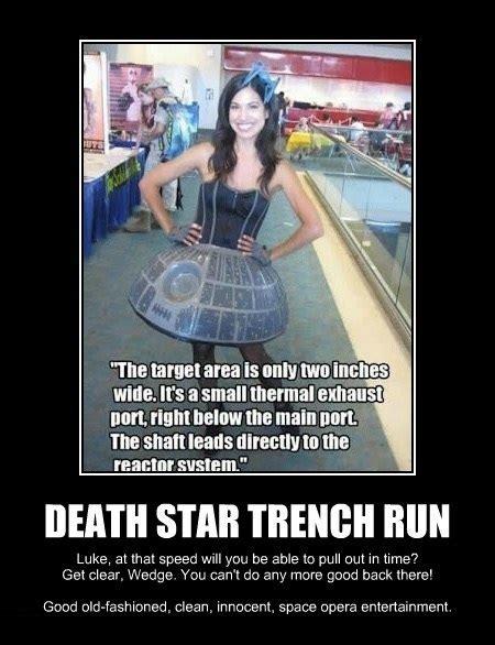sw fan boat death star trench run