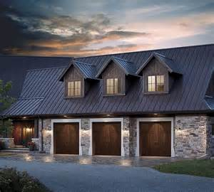 Three Car Garage Lighting 60 Residential Garage Door Designs Pictures