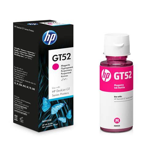 Hp Gt52 Magenta Original hp gt52 botella de tinta magenta