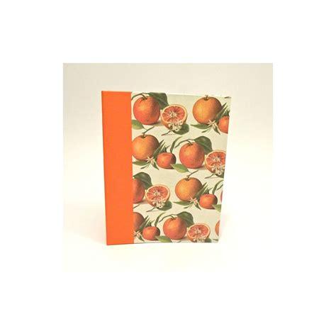 ricettario cucina ricettario da cucina con dorso in tela cialux arancio e