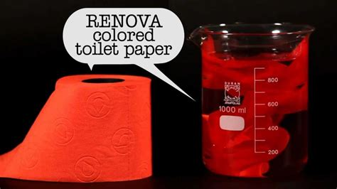 Why Did They Stop Colored Toilet Paper - is renova colored toilet paper safe for sewers and septic