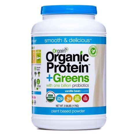 Garden Of Greens And Protein Powder Orgain Usda Organic Vanilla Bean Protein Greens Powder 2
