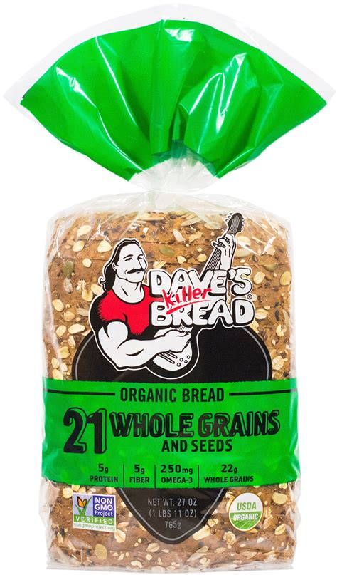 bread with whole grains 21 whole grains and seeds dave s killer bread organic