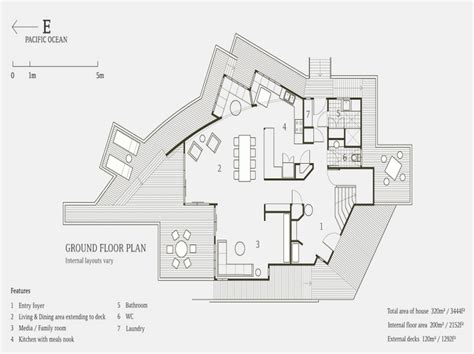 modern beach house floor plans ideas beach house floor plans design modern home plans