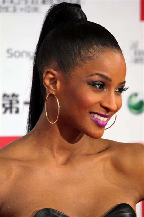 ponytail black hairstyles high ponytail hairstyles stylish eve