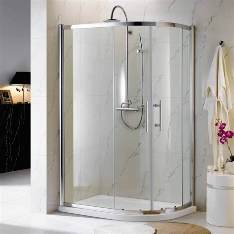 Small Bathroom Shower Stalls Corner Shower Units An Excellent Home Design
