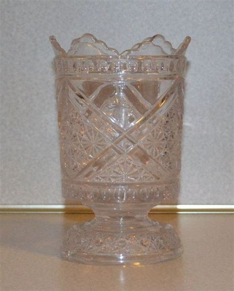 vintage glass pattern identification pressed glass glasses and antiques on pinterest