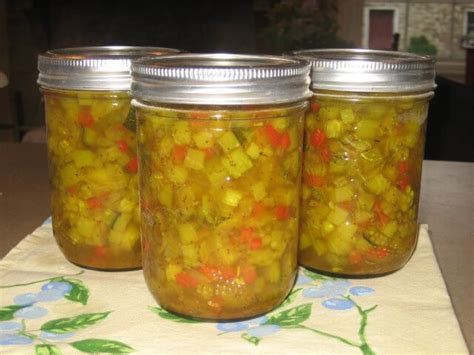 prize winning zucchini relish recipe cdkitchen com