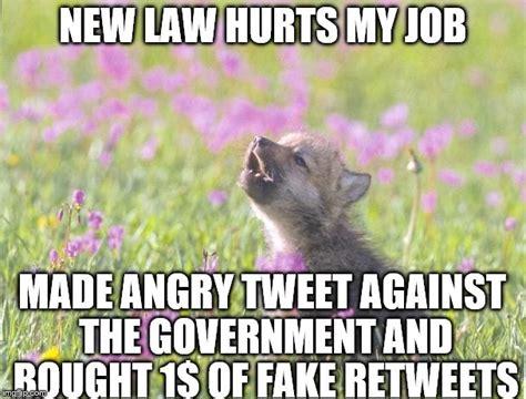 Angry Wolf Meme Generator - baby insanity wolf meme imgflip
