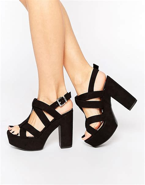 new look wide fit new look wide fit platform heeled