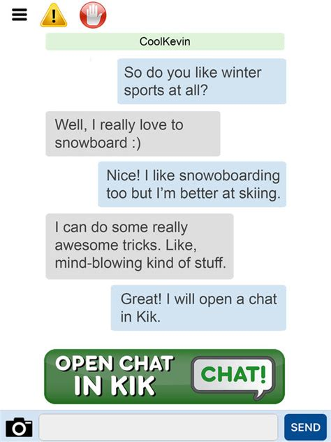 Find To Chat With On Kik App Shopper Chat Now For Kik Find Kik Usernames Friends Lifestyle