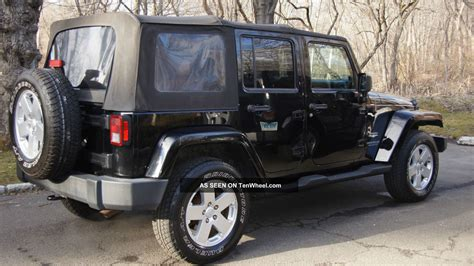 2007 Jeep Wrangler Doors by 2007 Jeep Wrangler Unlimited Sport Utility 4 Door