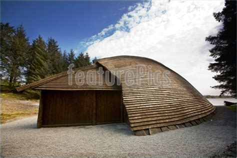 viking boat house viking boat house photo