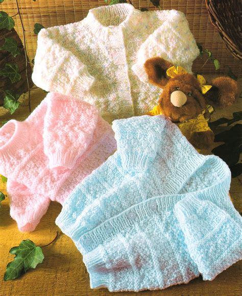 free knitting pattern jumper dk baby knitting pattern dk 16 quot 22 quot textured cardigans