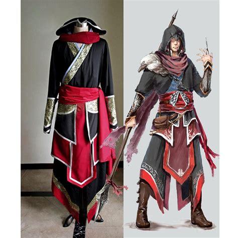Assassins Creed 2 Custom Kaos Cowok custom made assassin s creed costume set