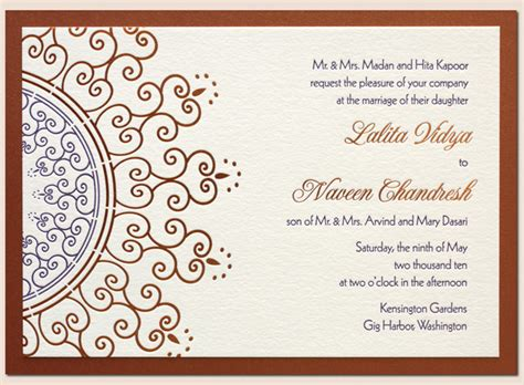 layout of a wedding card most fabulous wedding card